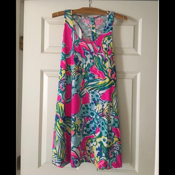 15d0776dc732ba Lilly Pulitzer Dresses & Skirts - NWOT Lilly Pulitzer Melle dress -hottie  racerback
